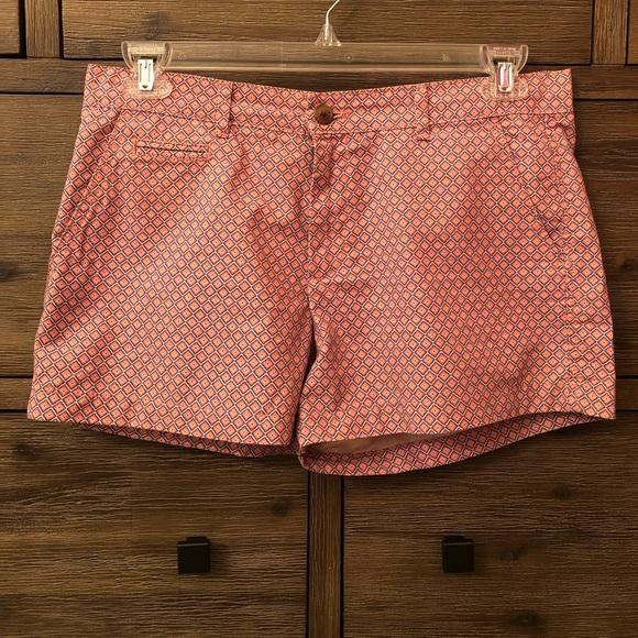 GAP Pants - Printed Khaki Shorts